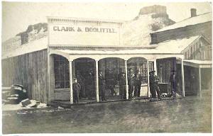 Washington Avenue, circa 1867. Source: Denver Public Library