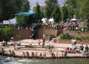 Buffalo Bill Days is one of several annual festivals held in downtown Golden.
