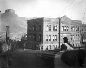 Colorado School of Mines in 1894. Source: Denver Public Library