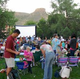 Movies and Music in the Park