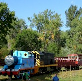 Thomas the Tank Engine Visits the Railroad Museum