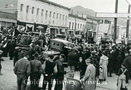 Armistice Day 1918 in Golden CO