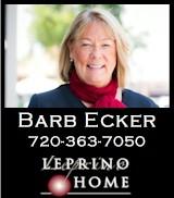 Barb Ecker - Managing Broker, Leprino Homes