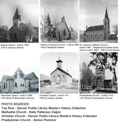 Historic Churches of Golden Colorado