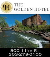 The Golden Hotel - Historic Downtown Golden Colorado
