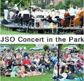 Jefferson Symphony Concert in Parfet Park - Golden Colorado